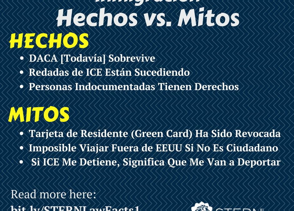 Se Desmienten los Mitos: Los Inmigrantes durante Tiempos de Confusión