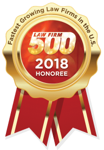 2018 Fastest Growing Law Firms in U.S. Law Firm 500
