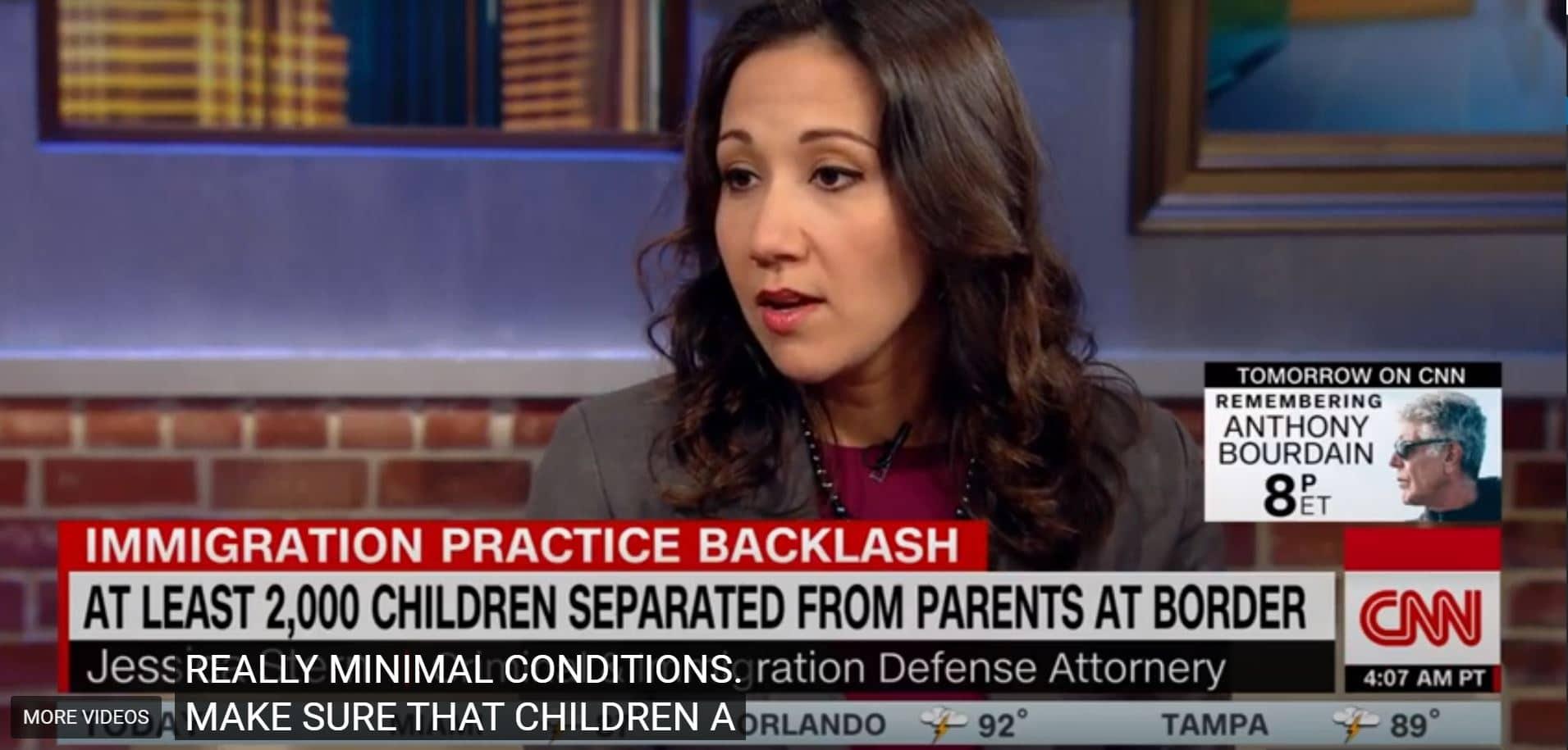 Attorney Jessica Stern Discusses Children Separation on CNN
